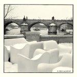 Karlův most, Praha, únor 2010