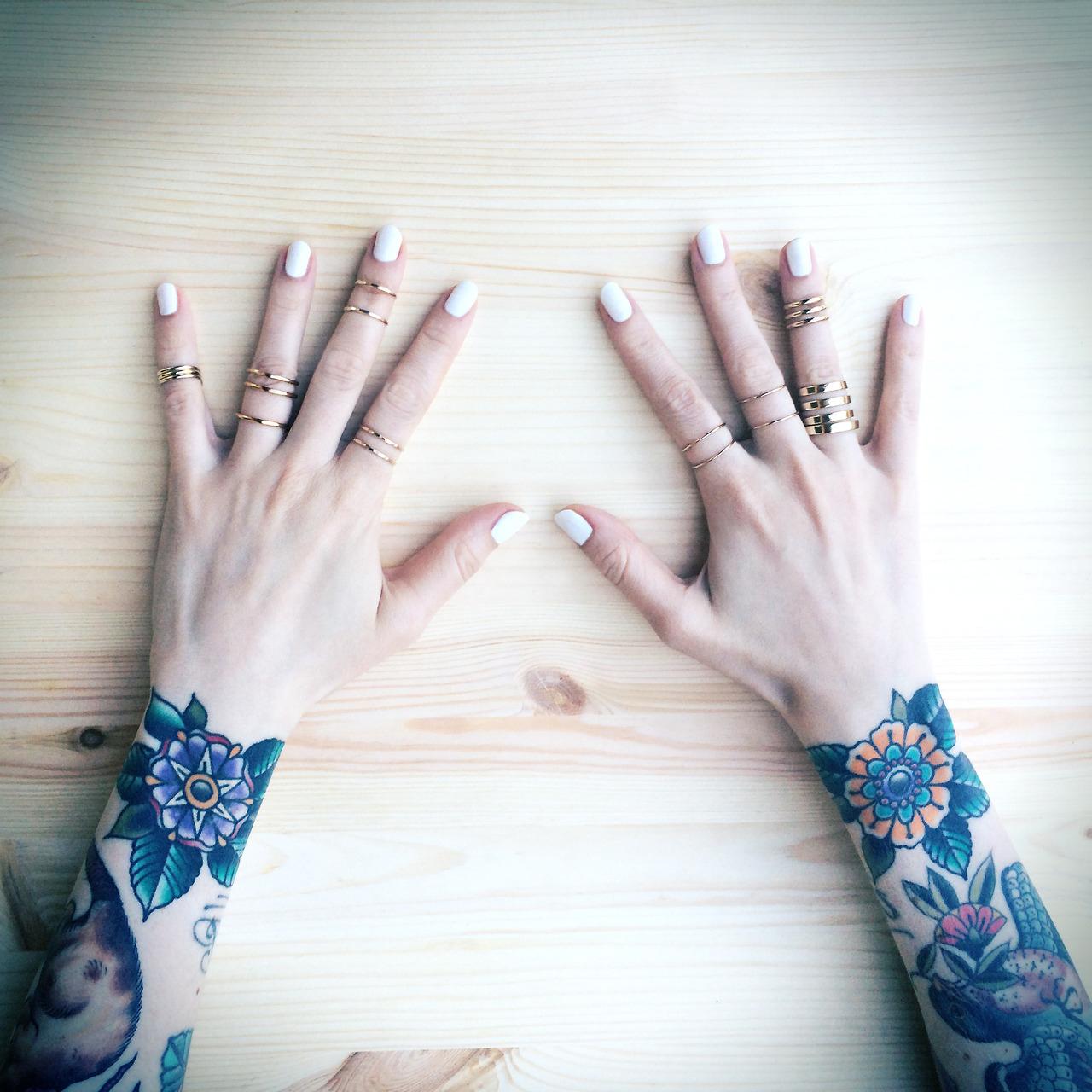 Butterfly Hand Tattoos Men