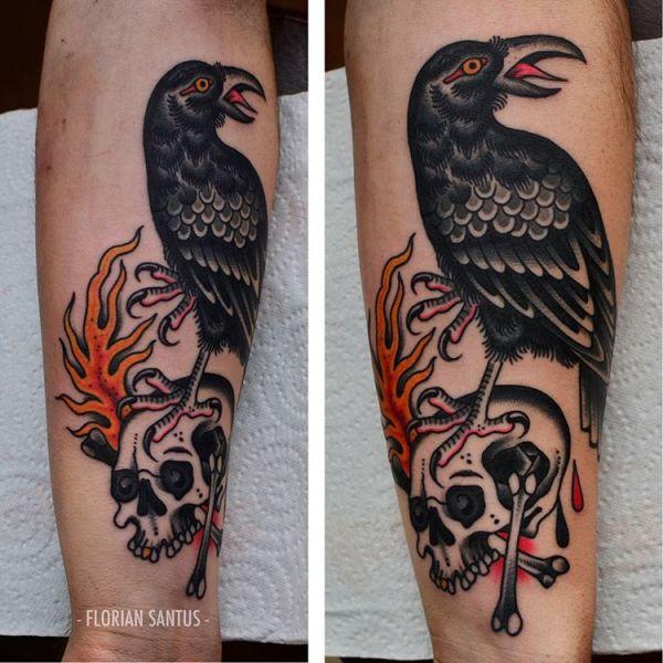 lower arm tattoo