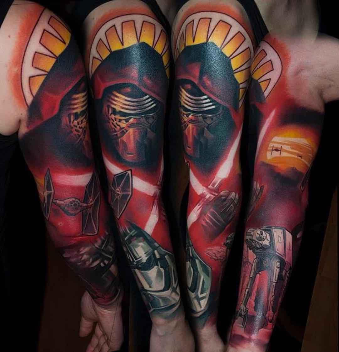 New Star Wars Tattoo Sleeve Best Tattoo Ideas Gallery