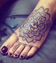 foot and toe tattoos tattoo