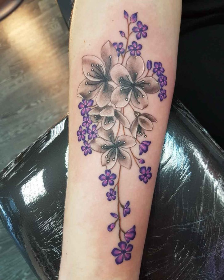 Forget Me Not Arm Tattoo Blossom Best Tattoo Ideas Gallery