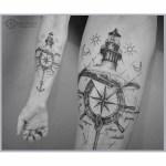 Anchor Steering Wheel Tattoo Best Tattoo Ideas Gallery