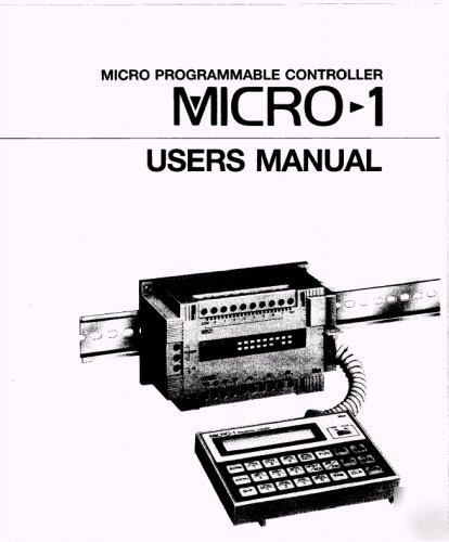 Idec micro 1 manual and software