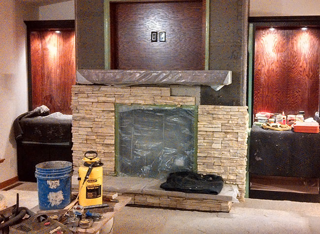 Complete Fireplace Remodeling Project In McGregor IA