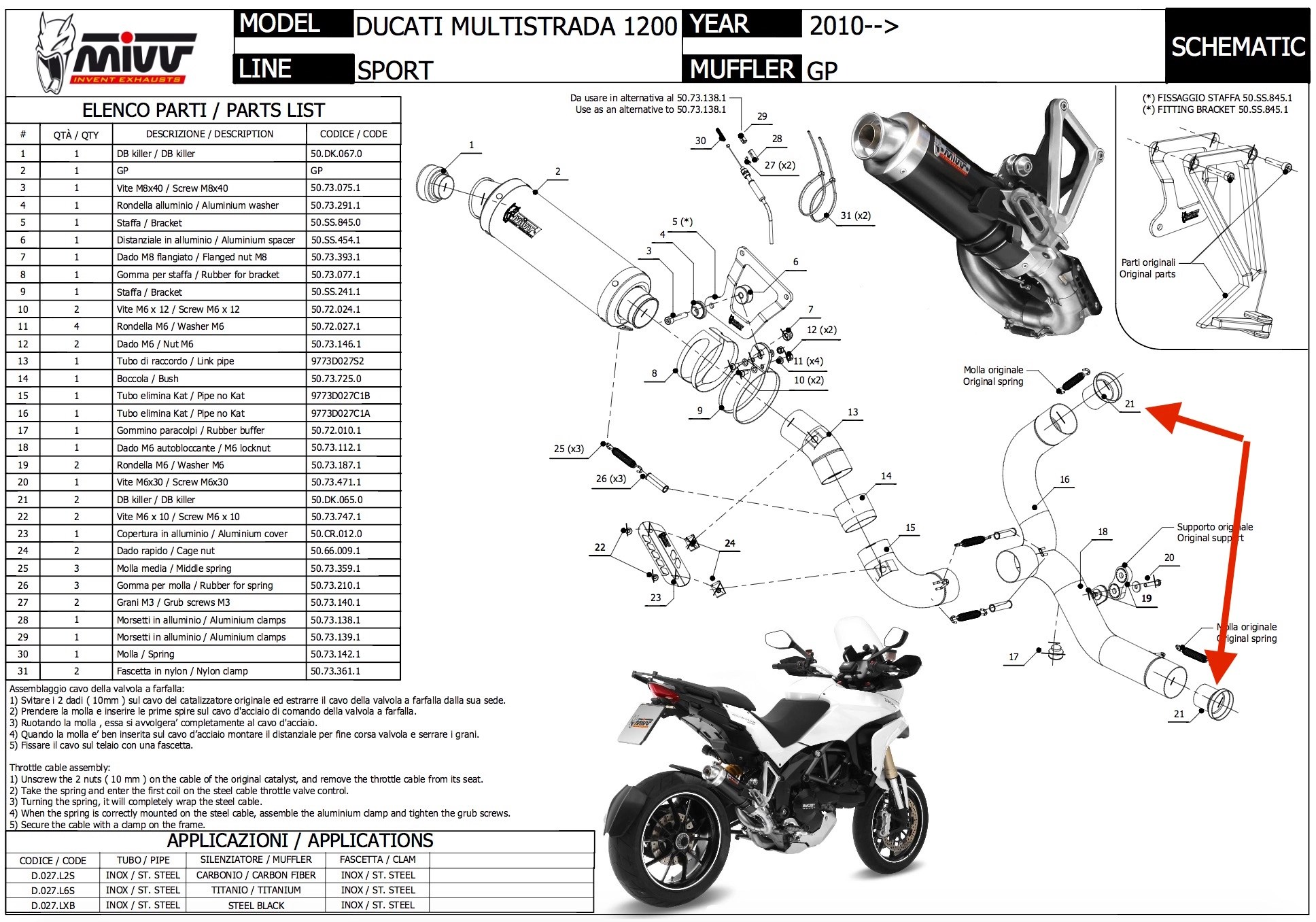 New Multistrada Questions