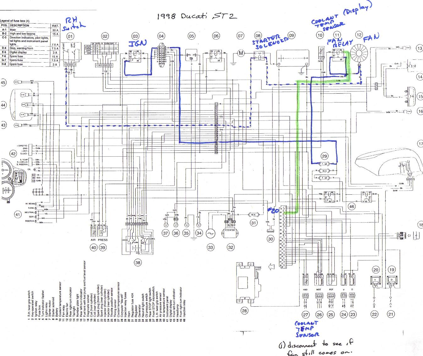 Ducati Wiring Diagram Boat Wiring Diagram All Wiring