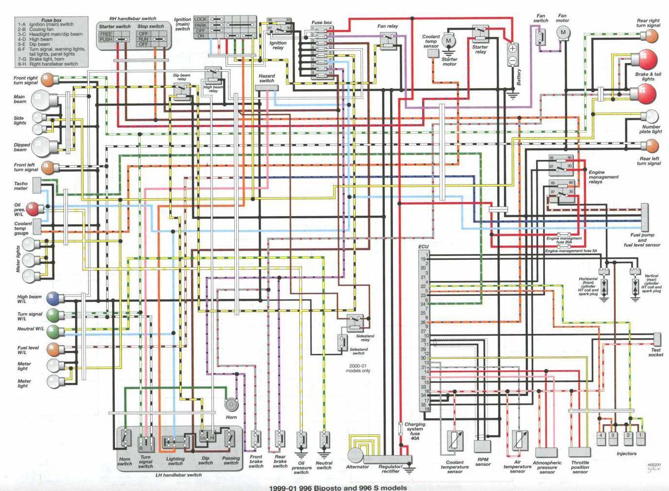1986 fj1200 wiring diagram chimpanzee skull identification for 748 ducati ms the ultimate