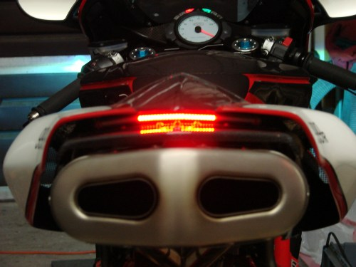 small resolution of 749 999 leo vince exhaust brake light wiring option ducati ducati 999 tail light wiring