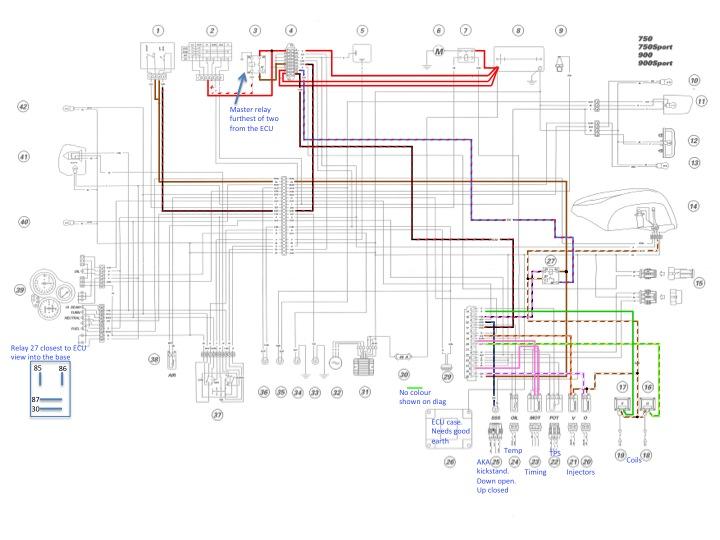 ducati 750 paso wiring diagram wiring diagrams scw6786d1431774147 coloured wiring diagram scrambler colour index ducati paso parts ducati 750 paso wiring diagram
