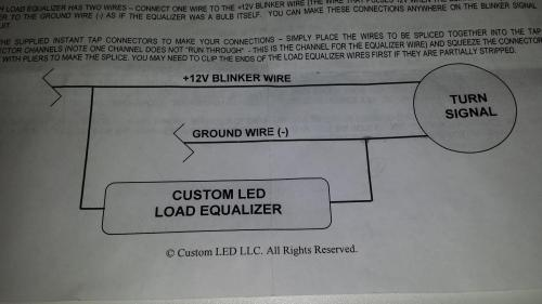 small resolution of integrated led tail light wiring 1198s ducati org forum the ducati led tail light wiring diagram