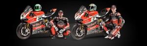 Ducati Superbike team Giugliano Davies Panigale 2015