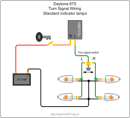 Indicator Wiring Diagram Relay. Electrical. Schematic