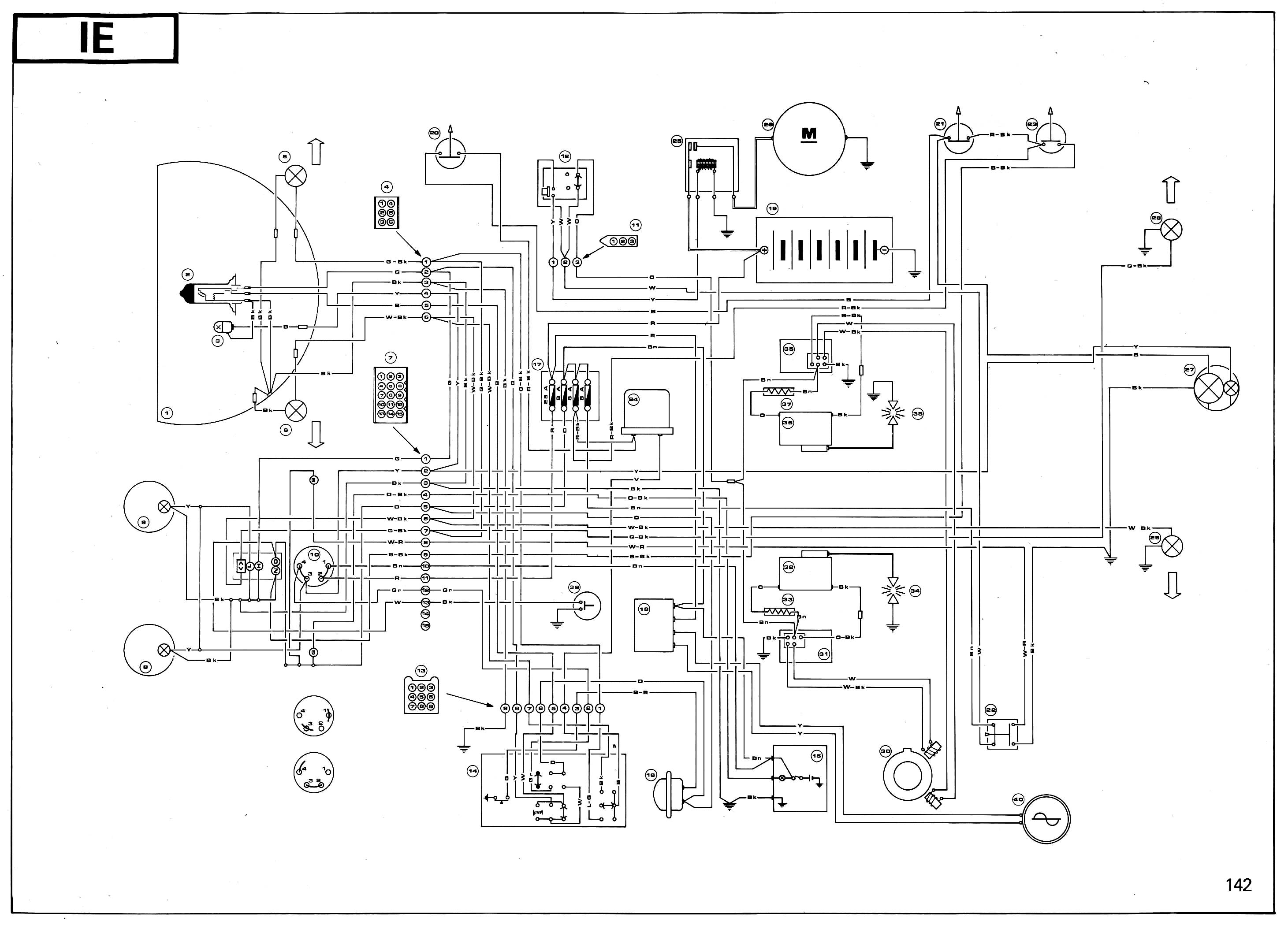Roketum 50cc Scooter Wiring Diagram