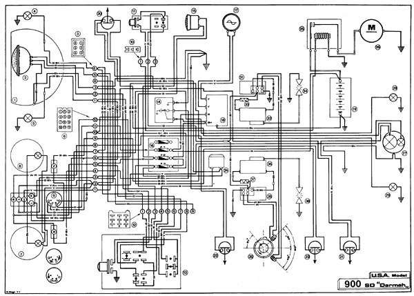 2002 Ducati 900 Wiring Diagram Ducati Regulator Schematic