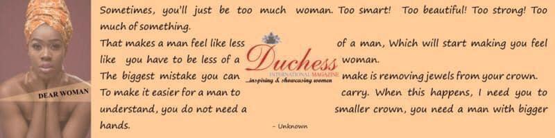 Duchess Poem woman