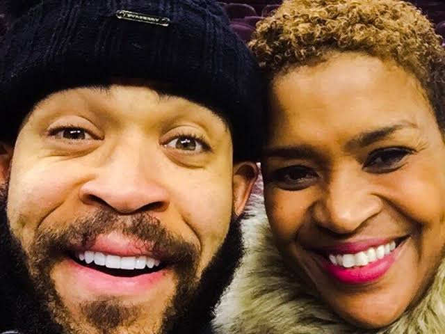 Pamela McGee and son JaVale McGee