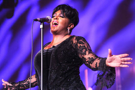Anita Baker Performing live in front of an audience