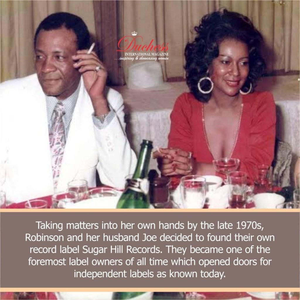 Sylvia and Joe Robinson Sugar Hill Records