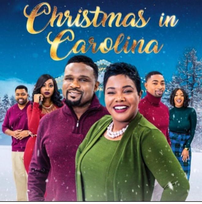 Darius McCrary and Kellie Shanygne Williams Christmas In Carolina