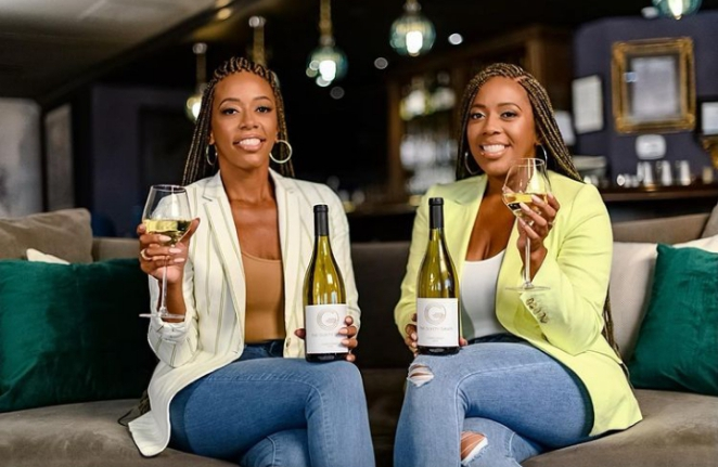 Nichelle and Nicole Nichols  co-founders The Guilty Grape,