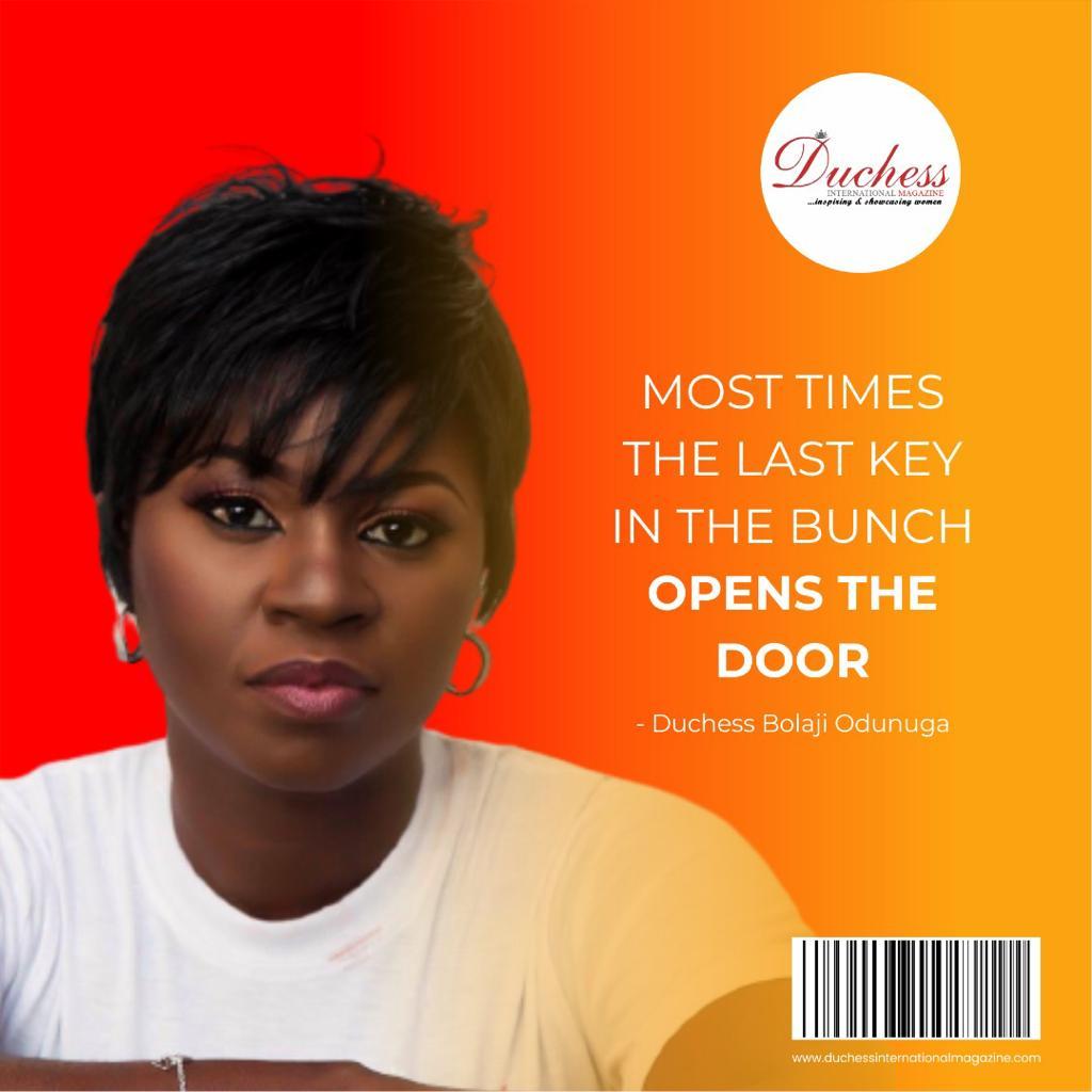 Duchess Bolaji Odunuga Founder and CEO Duke and Duchess International Magazines