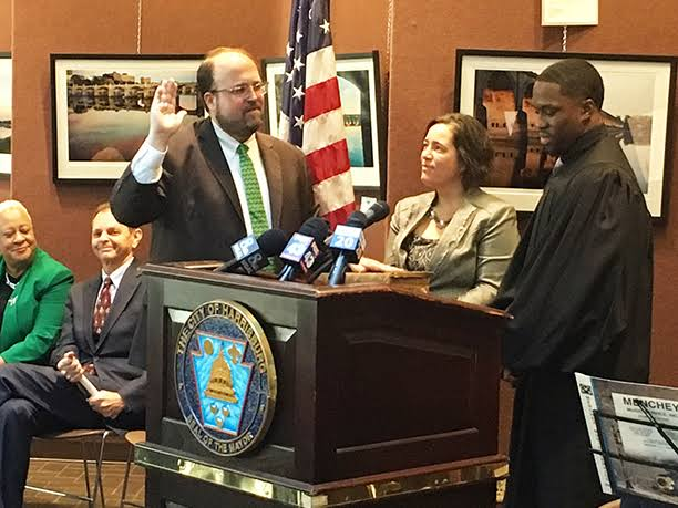 Hanif Johnson youngest Magisterial District Judge in Pennsylvania sworn in