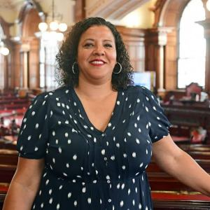 Joanne Anderson becomes UK's first directly elected black mayor in UK and first female mayor in Liverpool