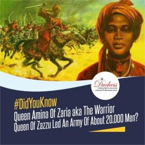 Queen Amina of Zaria