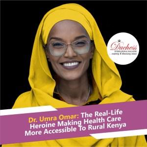 Dr. Umra Omar: Founder Safari Doctors