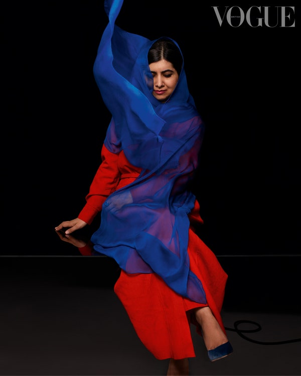 Malala Yousafzai on British Vogue