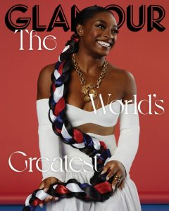 Simone Biles for Glamour Magazine