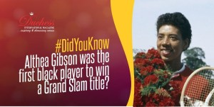 #DidYouKnow Althea Gibson was the first black player to win a Grand Slam title?