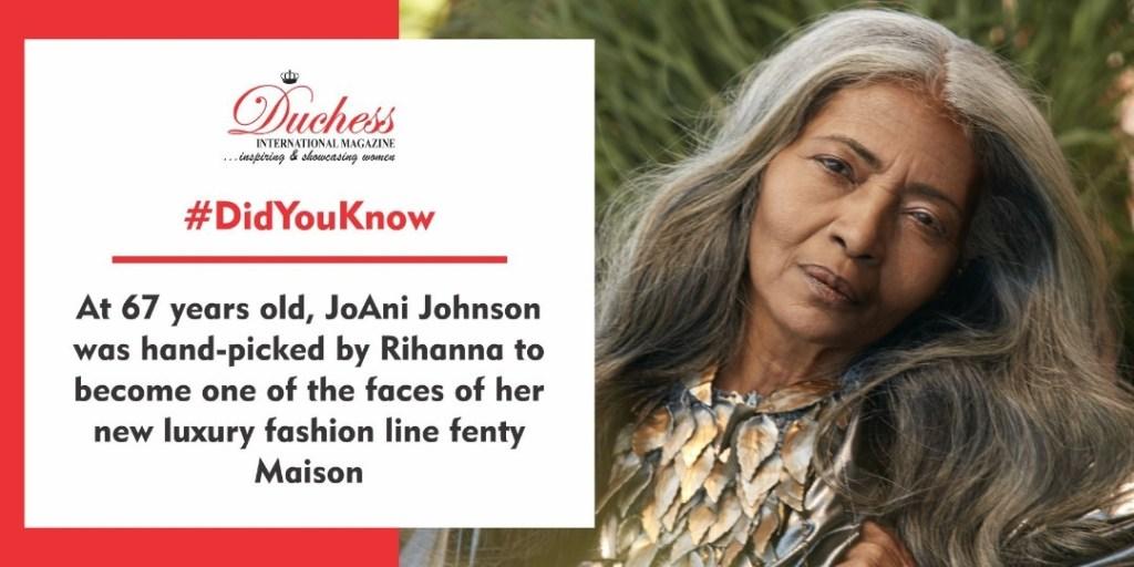 JoAni Johnson handpicked by Rihanna for Fenty