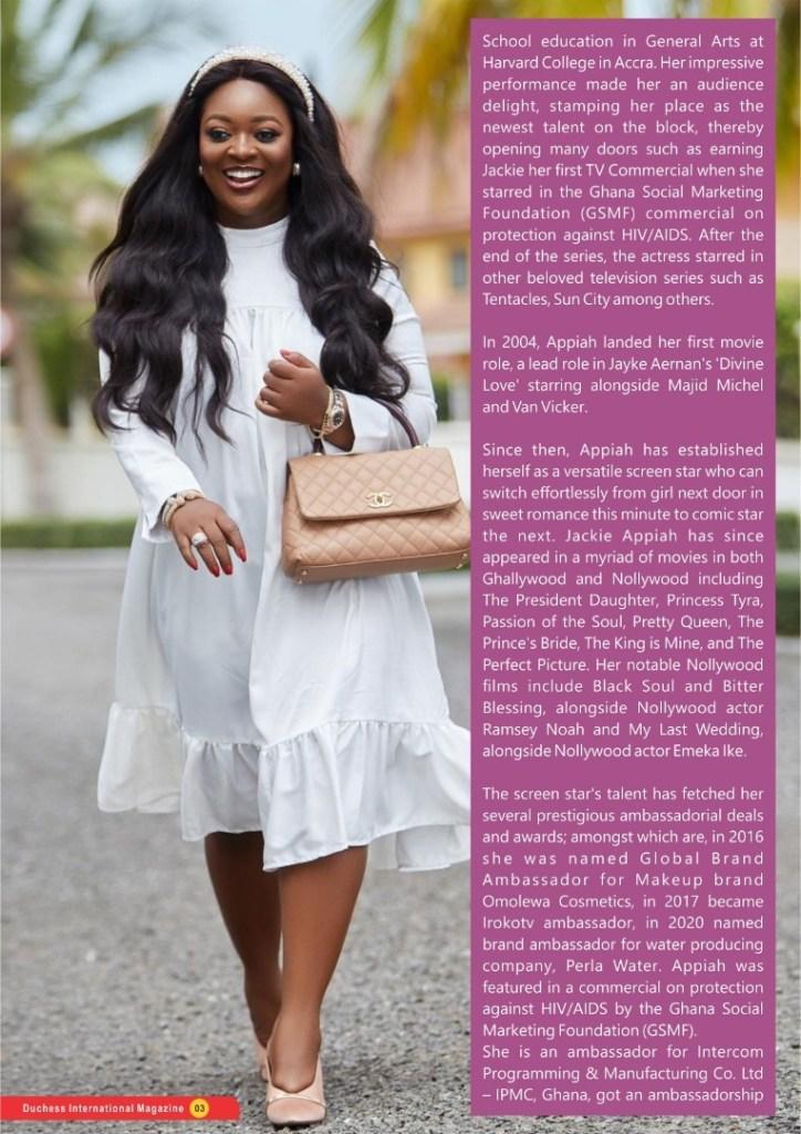 #DuchessOfTheMonth : Ghanaian Movie star Jackie Appiah