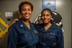 This Mom And Daughter Served On The Same Navy Ship Together