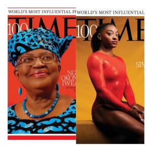 Okonjo-Iweala, Simone Biles, Naomi Osaka, Others Make Time 100 Most Influential People list