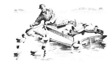 The Duck Hunter's Boat Page
