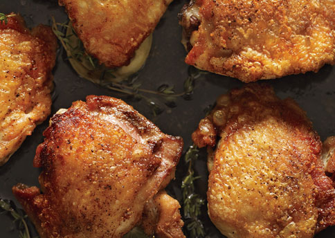 Perfect Pan-Roasted Chicken Thighs