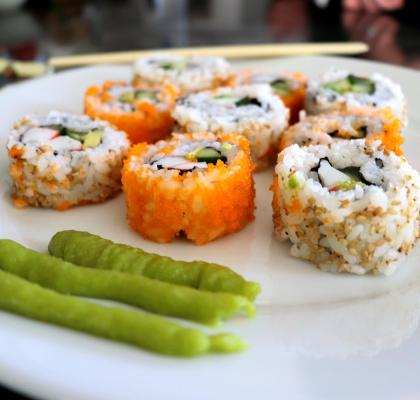 California Sushi Roll - DuckinaPot.com