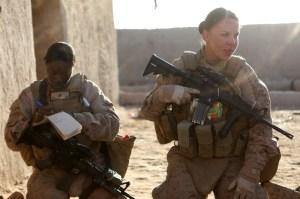 Female Marines in Operation ENDURING FREEDOM