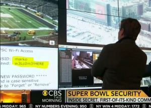 Super bowl security wifi