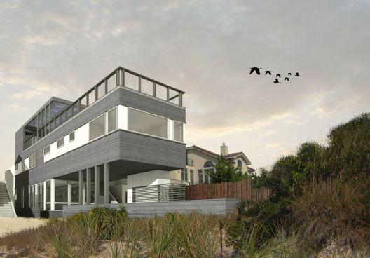 Renderings of a RES4 Long Beach home