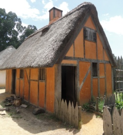 Colonial America for Kids Housing and Homes