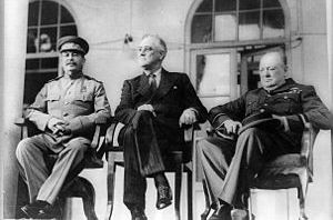 Teheran conference photo