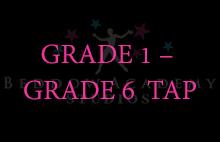 GRADE 1 – GRADE 6 TAP