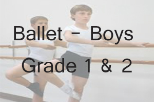 AIM Boys Ballet Grade 1 & 2 Uniform