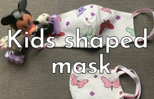 Kids Shaped Masks