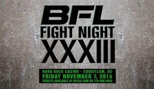 BattleField Fight League gets set to rumble Nov. 7!