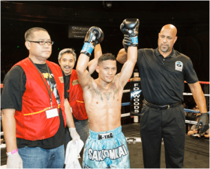 LION FIGHT SIGNS MUAY THAI PRODIGY VICTOR SARAVIA   TO EXCLUSIVE MULTI-FIGHT CONTRACT